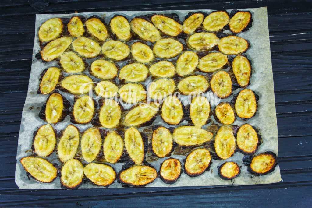 Банановые чипсы - шаг 4