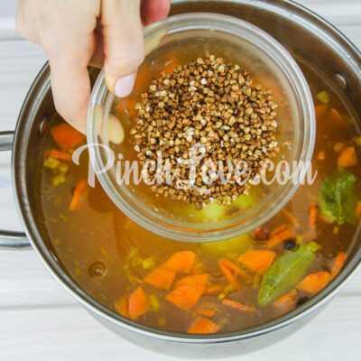 Суп гречневый - шаг 4-2