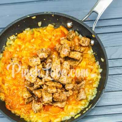 Рагу из свинины, картофеля и тыквы - шаг 5-1