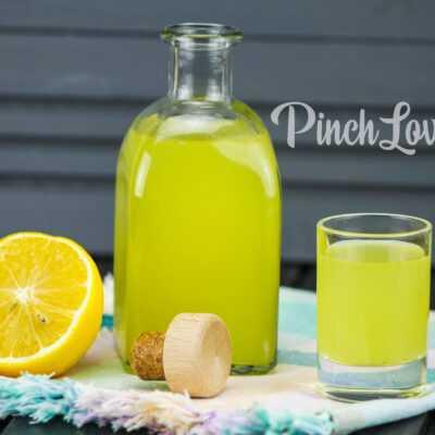 Лимончелло по домашнему