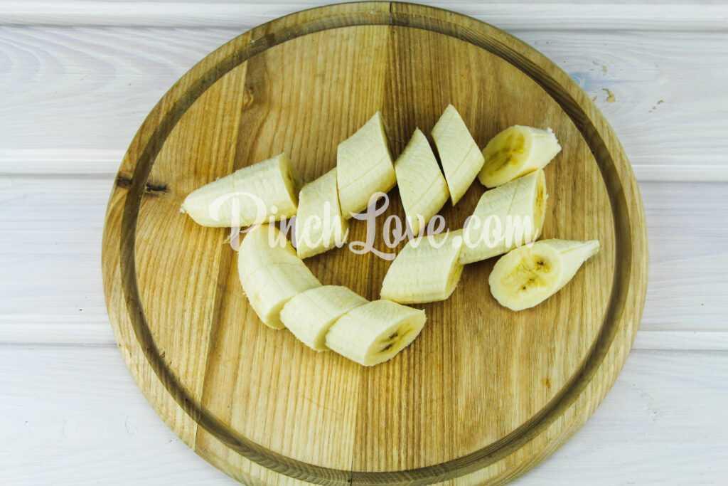 Банановый сок - шаг 1