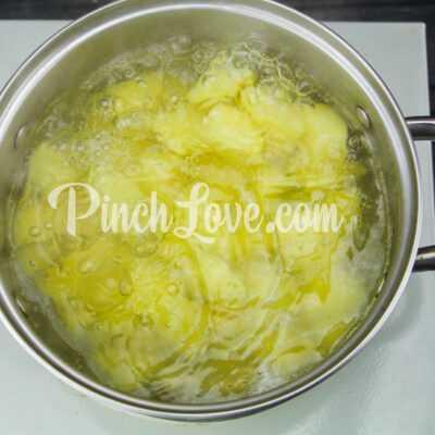 Картофельный суп-пюре - шаг 1-2