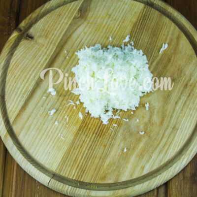 Мимоза с сардинами и плавленым сыром - шаг 2-1