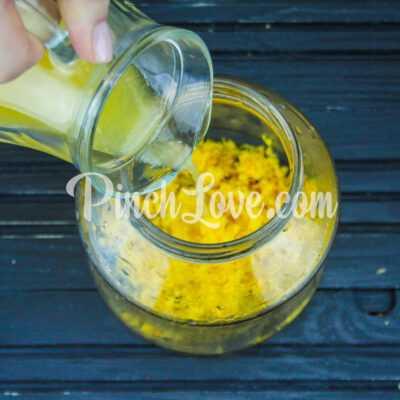 Апельсиновый ликер - шаг 2-2