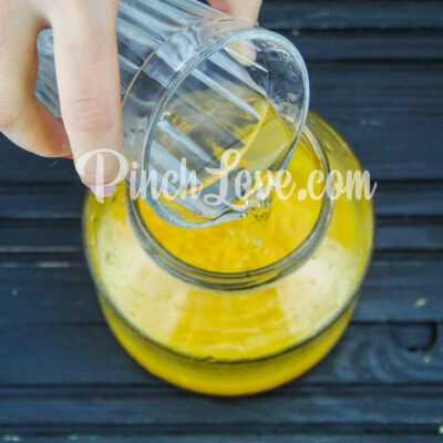 Апельсиновый ликер - шаг 2-3