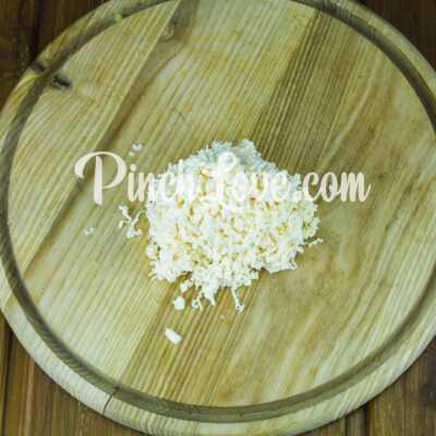 Мимоза с сардинами и плавленым сыром - шаг 3-2