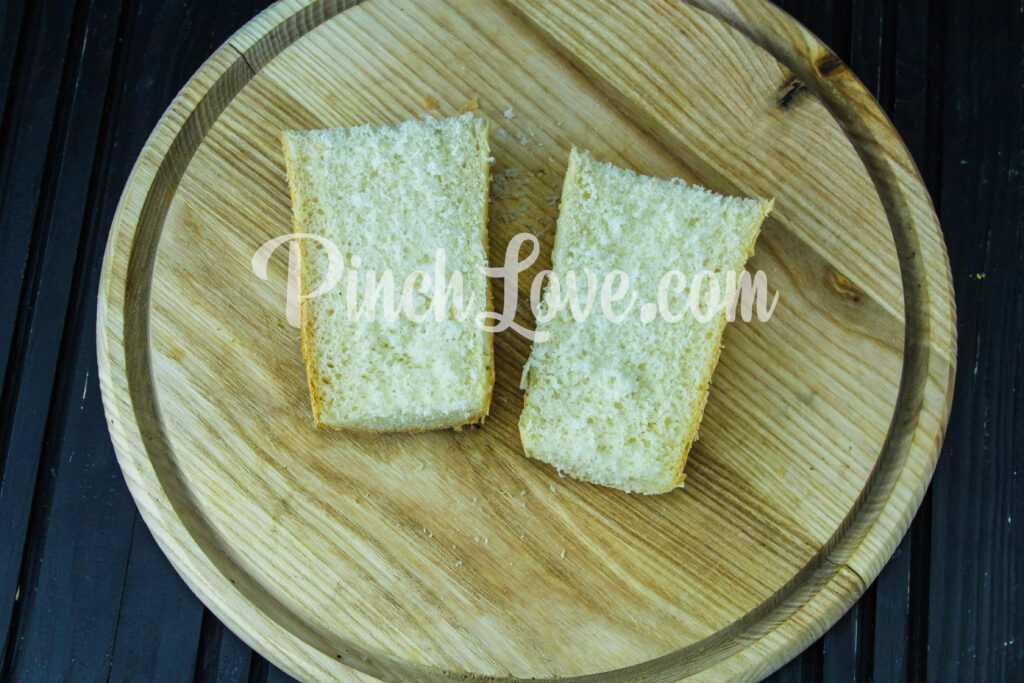 Сэндвич с красной рыбой и творожным сыром - шаг 4