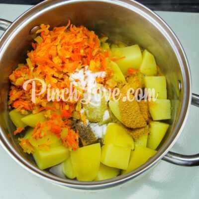 Картофельный суп-пюре - шаг 5-1