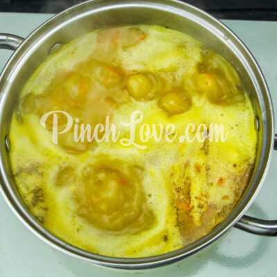 Картофельный суп-пюре - шаг 6-1