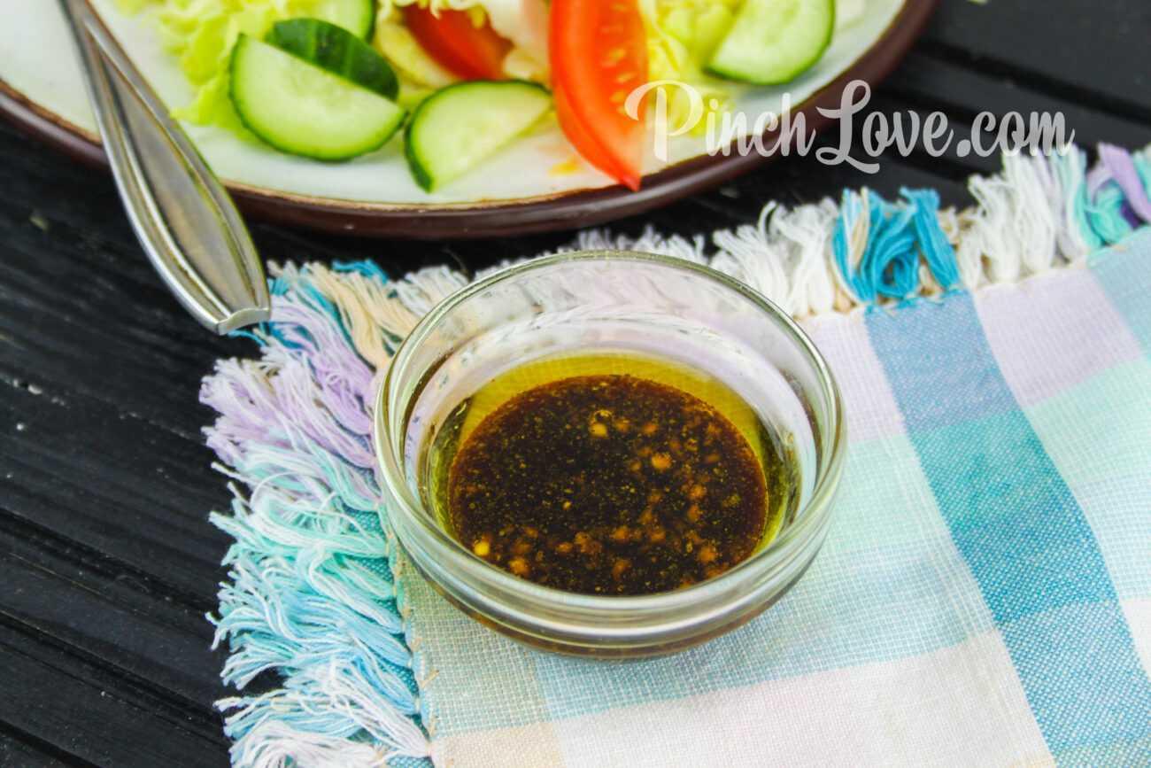 Заправка для овощного салата