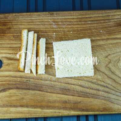 Канапе с паштетом из оливок и маслин с семгой - шаг 1-1