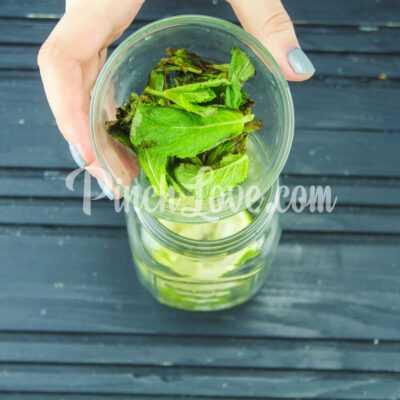 Безалкогольный мохито - шаг 3-1