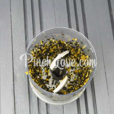 Канапе с паштетом из оливок и маслин с семгой - шаг 3-2