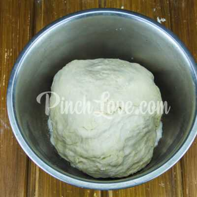 Кальцоне с колбасой и сыром - шаг 4-1