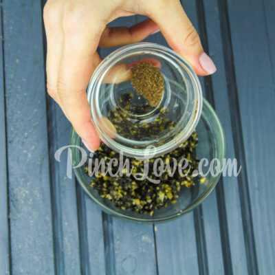 Канапе с паштетом из оливок и маслин с семгой - шаг 4-1