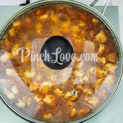 Макароны с курицей в томатном соусе - шаг 4-2