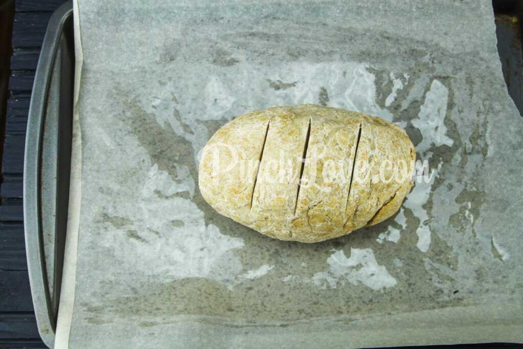 Домашний ржаной хлеб в духовке - шаг 5