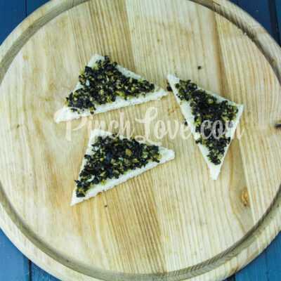 Канапе с паштетом из оливок и маслин с семгой - шаг 5-1