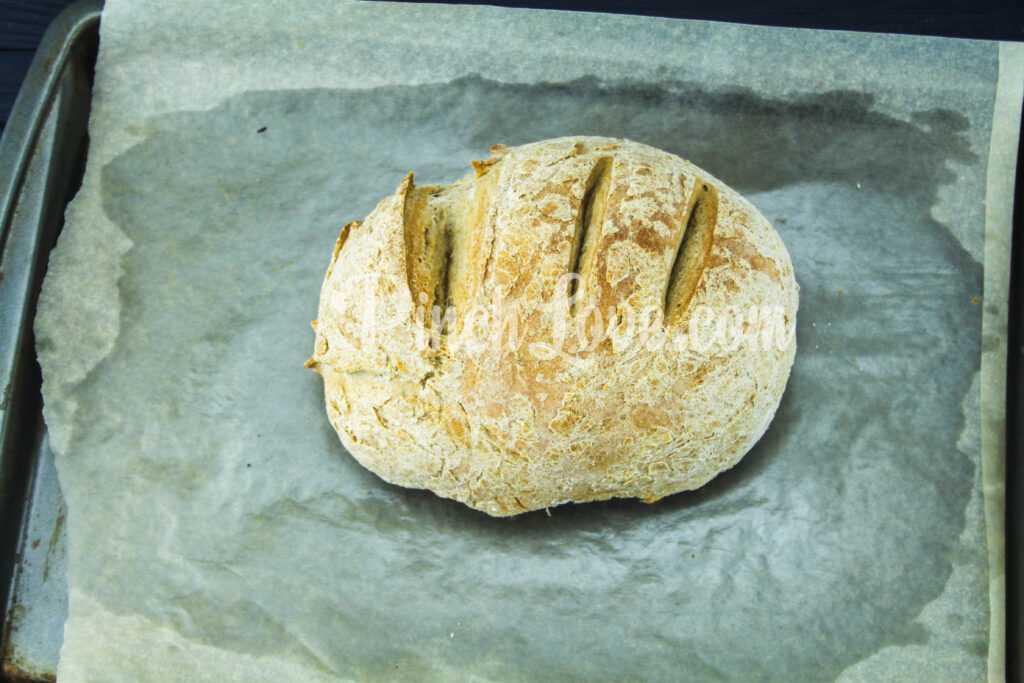 Домашний ржаной хлеб в духовке - шаг 6