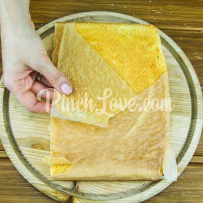 Бисквитный торт - шаг 6-2