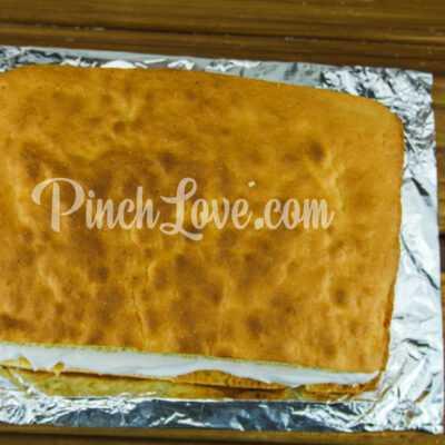 Бисквитный торт - шаг 8-2