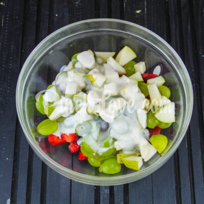 Фруктовый салат - шаг 3-1