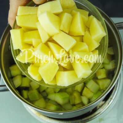 Крем-суп из кабачков - шаг 3-2