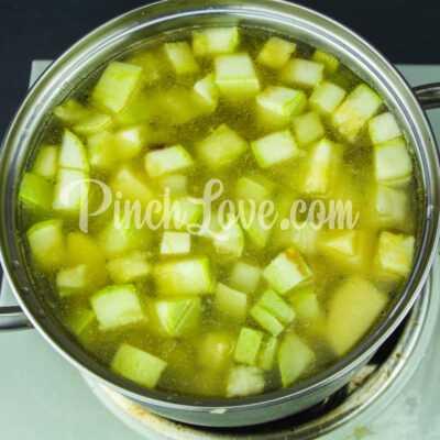 Крем-суп из кабачков - шаг 4-1