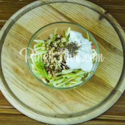 Салат с ревенем и яблоком - шаг 5-1