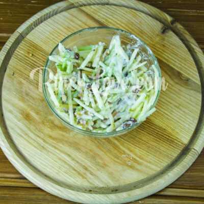 Салат с ревенем и яблоком - шаг 5-2