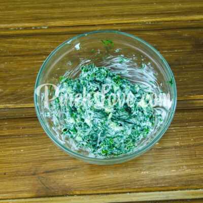 Закуска из ревеня, помидора и зеленого лука - шаг 3-2