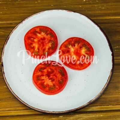 Закуска из ревеня, помидора и зеленого лука - шаг 4-1
