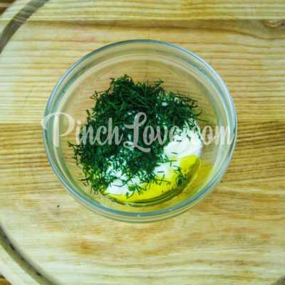 Йогуртовая заправка с карри - шаг 1-1