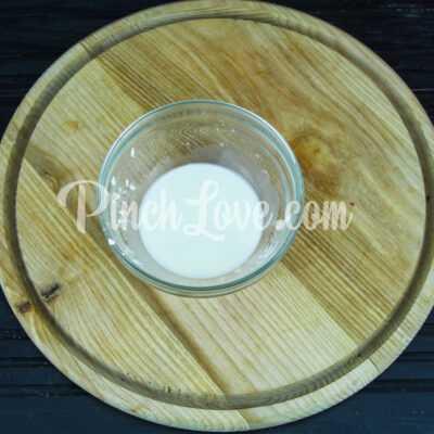 Фруктовый лед из клубники и персика - шаг 1-2