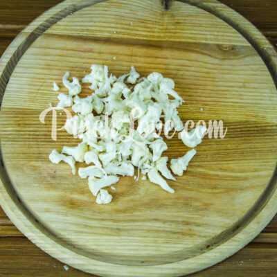 Салат с ревенем, цветной капустой и яйцом - шаг 2-2
