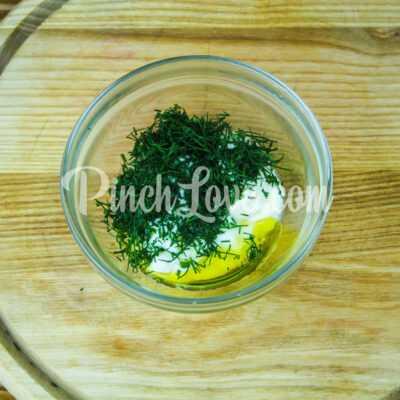 Салат с ревенем, цветной капустой и яйцом - шаг 3-1