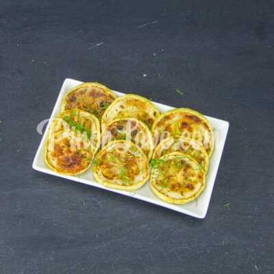 Жареные кабачки с орегано - шаг 4-2