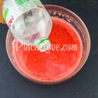 Арбузный лимонад - шаг 4-3