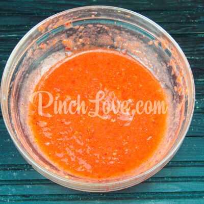 Фруктовый лед из клубники и персика - шаг 5-2