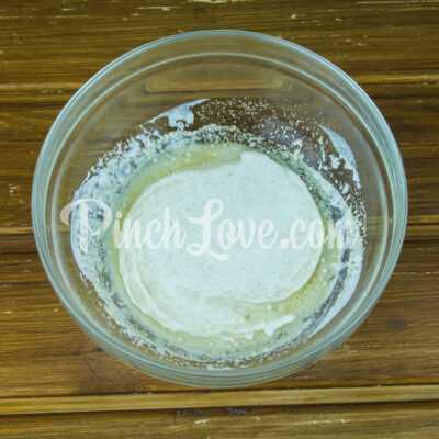 Пирожки с ревенем - шаг 1-2